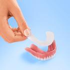 Patch pour dentier, mâchoire inférieure