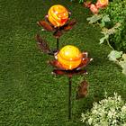 Lot de 2 fleurs solaires