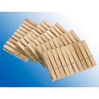 50 pinces à linge en bois