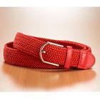 Lot de 2 ceintures rouge + noir