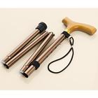 Canne pliable, coloris bronze
