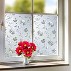Film spécial fenêtre Fleurs