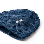 Bonnet, bleu