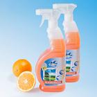 Nettoyant pour vitres orange, 2 x 650 ml