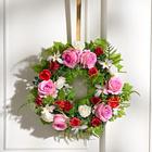 Couronne de roses, 28 cm