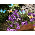 Lot de 18 piquets Papillon