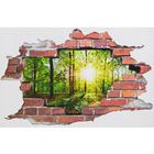 Sticker mural 3D Forêt XXL