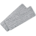 Lot de 2serpillères de rechange CLEANmaxx, gris
