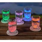 Lot de 5dessous-de-verre à LED