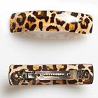 Pince à cheveux, léopard