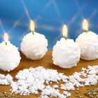 4 bougies boules de neige