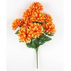Bouquet de dahlias, orange