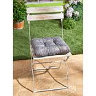 Coussin de chaise Marbre, gris
