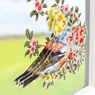 Décorations de fenêtre 3D Fleurs