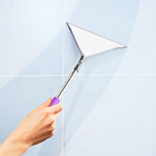 Balai lave-vitre flexible et télescopique