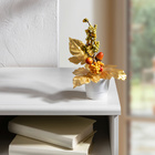 Bouquet, coloris doré