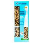 Brosse à dents sonique, léopard