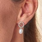 """Boucles d'oreilles """"Poissons"""" avec perle"""