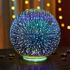 Boule en verre à LED