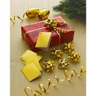 Emballage, coloris doré,12 pièces