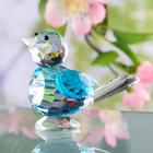 Oiseau en cristal Mésange bleue