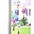 Suspension fleur, violet