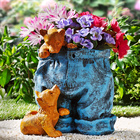 Pot de fleurs Pantalon
