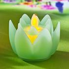 Fleur LED, vert