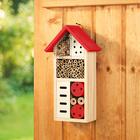 Maison des insectes, rouge