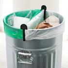 Lot de 2 clips pour sacs-poubelle