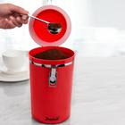 Boîte à café, rouge Basilico