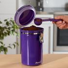 Boîte à café Basilico, violet