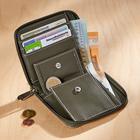 Porte-monnaie RFID, kaki