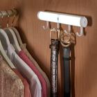 Lampe avec détecteur de mouvement et 4 crochets