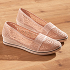 Chaussures, rose pastel
