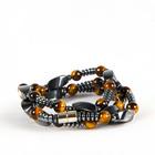 Bracelet hématite et œil-de-tigre